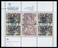 Portugal Bloc Feuillet 1982 Y&T N°BF36 - Michel N°B35 (o) - 33,50e EUROPA - Hojas Bloque