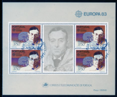 Portugal Bloc Feuillet 1983 Y&T N°BF41 - Michel N°B40 (o) - 37,50e EUROPA - Hojas Bloque