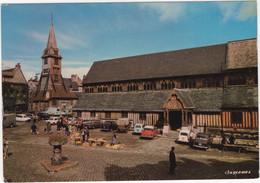 Honfleur: VOLVO AMAZON, RENAULT 4, SIMCA ARONDE, 1000, PEUGEOT 403, 404, J7, CITROËN DS, 2CV AZU L'Eglise Ste-Cathérine - Turismo
