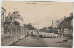 2. - CRECY-COUVE  - La Grande-Rue - Andere Gemeenten