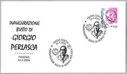 Inauguracion Busto De GIORGIO PERLASCA. Justo De La Humanidad - Righteous Among The Nations. Judaica. Padova 2004 - Jewish