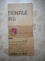 Timbre Sur Lettre - Bandeau - Document Complet - Covers & Documents