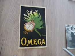 CPA Originale  Illustrateur Cappiello Pub Montres Oméga TBE - Cappiello