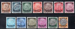 POLAND 1939 GENERAL GOUVERNMENT GG WW2 3RD REICH NAZI GERMANY OCCUPATION HINDENBURG OVERPRINT OSTEN SURCHARGE USED POLEN - Used Stamps