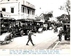 INDOCHINE .NORD VIETNAM .1954 .FIN DE GUERRE . TRUOC CUA NAP CHOP BONG O HAI PHONG - Places