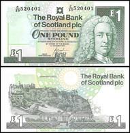 ♛ SCOTLAND - 1 Pound 01.10.2001 UNC P.351 E - 1 Pond