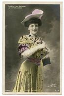 Lise Berty (Metella) Théâtre Des Variétés En 1904.La Vie Parisienne Opéra Bouffe Jacques Offenbach.rehauts De Cabochons - Entertainers