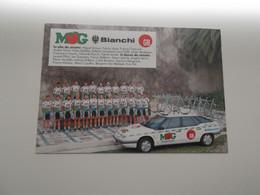 Team MG - Bianci - GB 1992 - Tchmil, Ballerini, Bomans, Van Itterbeek, Cipollini, Willems, .... - Cycling