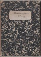 Rare Plan Ancien Toilé (1845) De La Ville De Fontainebleau Entouré De 4 Gravures D'époque Dressé Par Denecourt - Altri