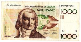 1000 FB GRETRY - 1000 Francs