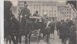 PARIS LE ROI EDOUARD VII ARRIVANT A L'HOTEL DE VILLE 1903 PRECURSEUR TBE - Other