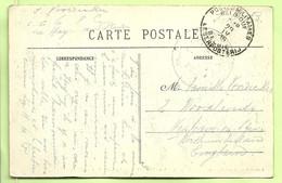 """Kaart VALOGNES Van """"C.I. N°6"""" LA HAYE-DU-PUITS(centre D'instruction) PMB 29/4/16 (K5151) - Belgische Armee"""