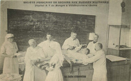 RHONE  VILLEFRANCHE SUR SAONE  Société Française De Secours Aux Bléssés Militaires - Villefranche-sur-Saone