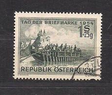 Austria Autriche Österreich 1954 Yvertn° 843 (°) Oblitéré Cote 10 € Journée Du Timbre - 1945-60 Used