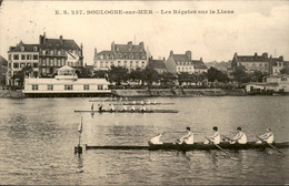 France - Frankrijk - Boulogne-sur-Mer - Les Régates Sur La Liane - 1908 - Unclassified