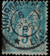 -Sage N°75 Type II  Ob  ( CAD ) LILLE JOURNAUX 1898 - 1876-1898 Sage (Tipo II)
