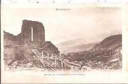 CPA -  Martinique - Ruines De La Cathédrale De St-Pierre - Unclassified