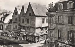 21 Dijon Rue De La Liberté Vieilles Maisons CPSM PF Edit Estel N°671 Magasins Commerce Pharmacie - Dijon
