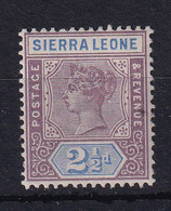 Sierra Leone: 1896/97   QV     SG45     2½d      MH - Sierra Leone (...-1960)