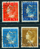 Netherlands Sc# O16-O19 Used 1940 Officials - Officials