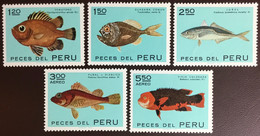 Peru 1972 Endemic Fish MNH - Fische