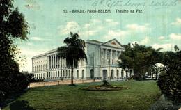 BRAZIL PARÁ BELEM THEATRO DA PAZ EDITOR EDUARDO A FERNANDES TEATRO THEATER  Theatrecollection - Belém