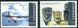 Danemark Denmark Danmark 2007 Polar Year Année Polaire De Havilland Canada Twin Otter - Airplanes