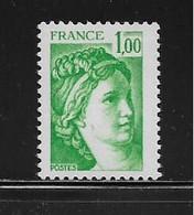FRANCE  ( FVT - 253 )  1978  N° YVERT ET TELLIER  N° 1973   N** - Varieteiten: 1970-79 Postfris