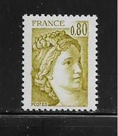 FRANCE  ( FVT - 255 )  1977  N° YVERT ET TELLIER  N° 1971   N** - Varieteiten: 1970-79 Postfris