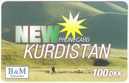 DANMARK A-540 Prepaid - Landscape, Steppe, Kurdistan - MINT - Dinamarca