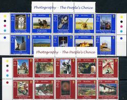 Isle Of Man, Photos, 2002, 20 Stamps - Fattoria