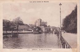 74, Annecy, Le Port Et Le Château - Annecy