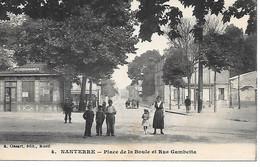 P/v      92        Nanterre        Place De La Boule & Rue Gambetta - Nanterre