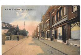 Haine-St-Pierre NA39: Rue De La Station 1924 - La Louviere