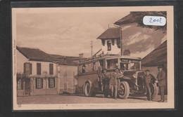 Cpa 2002 Boulin Arrivée De L'autobus - Otros Municipios