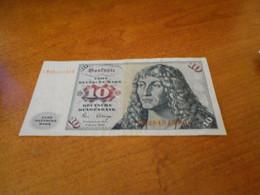 GERMANY    10  MARKS    BILLET - 10 Deutsche Mark