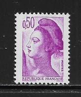 FRANCE  ( FVT - 284 )  1982  N° YVERT ET TELLIER  N° 2184   N** - Varieteiten: 1970-79 Postfris