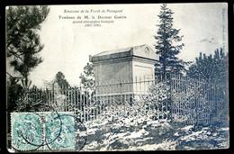 Cpa Du 35 Environs De La Forêt De Paimpont Tombeau De M. Le Docteur Guérin Grand Chirurgien Français   NOV20-63 - Paimpont