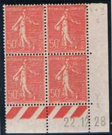 50c Semeuse Lignée Yvert 199, Y De X+Y Du 22-12-28,** - ....-1929