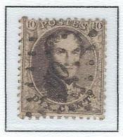 COB 14 Médaillons Dentelés -  Bureau De Poste De :   L 60  BRUXELLES - 1863-1864 Medallions (13/16)