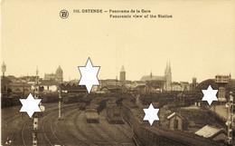 Panorama De La Gare (Spoorweg - Treinen @ Chemin De Fer - Trains) Oostende - Ostende (DOOS 8) - Oostende