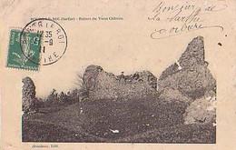 Sarthe        556        Bourg Le Roi.Ruines Du Vieux Château - Autres Communes