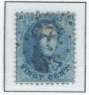 COB 15 Médaillons Dentelés -  Bureau De Poste De :   L 77  CHARLEROI - 1863-1864 Medallions (13/16)