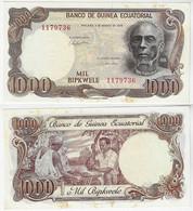 Banknote Equatorial Guinea 1000 Bipkwele 1979 Pick-16 Unc - Equatorial Guinea