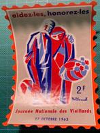 Journée Nationale Des Vieillards - Grande Vignette - 1963 - - Non Classés