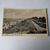 Bergen Aan Zee / Zee Boulevard 1946 Ro Lichte Hoek Vouwtjes - Other