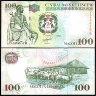 Lesotho - 100 Maloti 2009 UNC P. 19e Lemberg-Zp - Lesotho