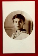CPA CARTE PHOTO Du TSAREVITCH ALEXIS NIKOLAIEVITCH ROMANOV Fils Du TSAR DE RUSSIE NICOLAS II - Fotografia