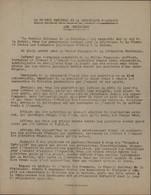 Tract Conseil National Résistance Mise En Garde Policiers Qui Torturent + Arrêtent Patriotes Suite Libération Guerre 40 - Historical Documents