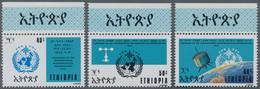 Äthiopien: 1973, Centenary Of The International Meteorological Organization (IMO/WMO) Complete Set O - Ethiopië